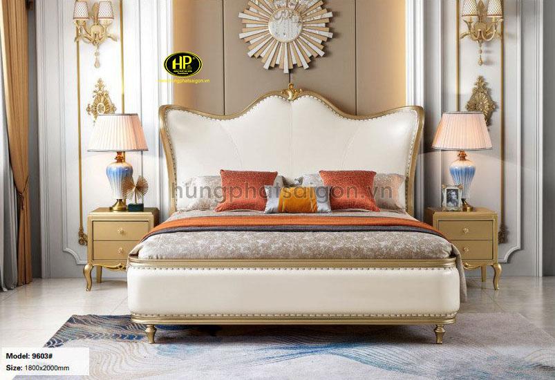 Giường ngủ hiện đại sang trọng AT-9603
