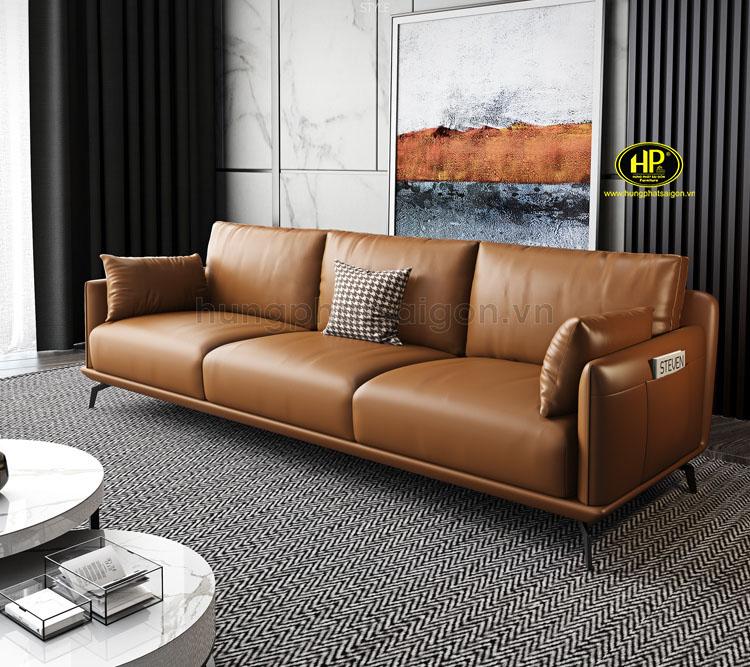 Sofa băng da cho phòng khách H-190 (3)