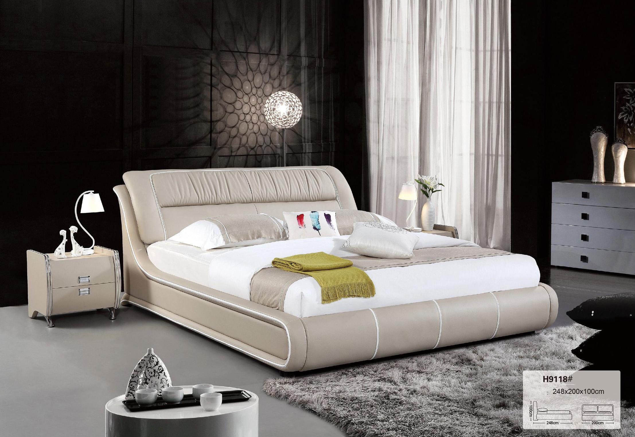 Sofa bọc gia cho phòng ngủ hiện đại TP-H9118