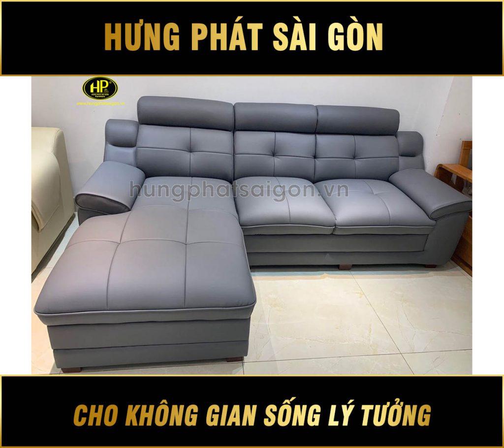 Sofa da hiện đại cho chung cư HD-56