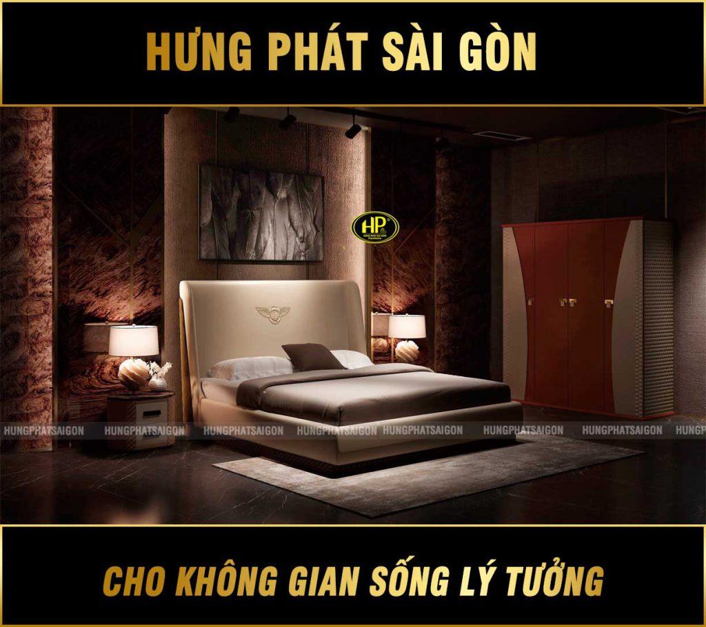 Trọn bộ giường tủ phòng ngủ TP-Y007