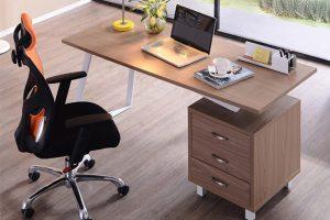 bàn làm việc từ gỗ MDF