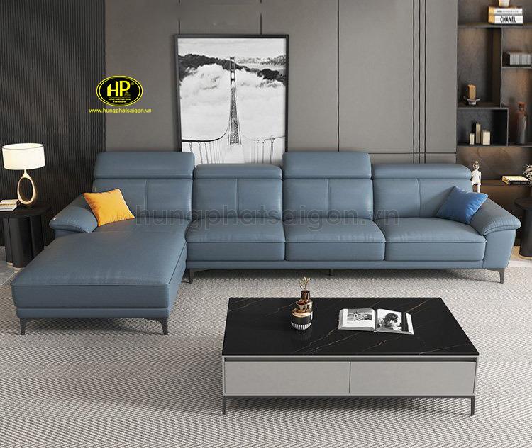 Sofa da góc cao cấp HD-62