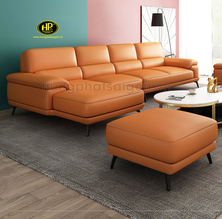 Sofa da hiện đại trẻ trung HD-63