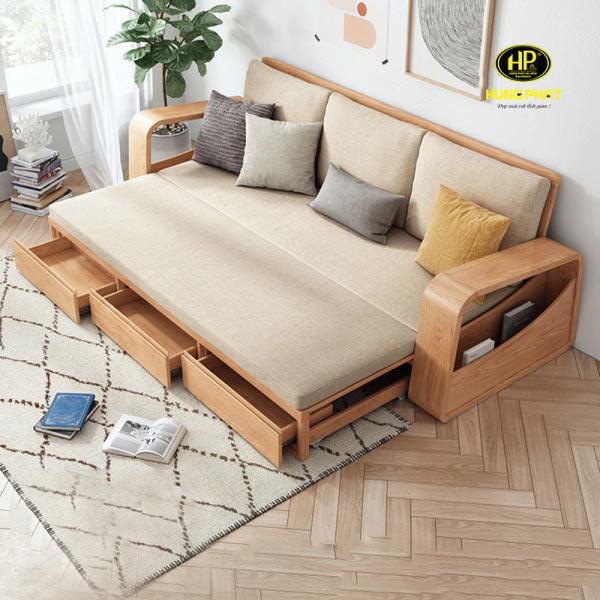 Ghế sofa giường tiện lợi là sự lựa chọn của nhiều gia đình