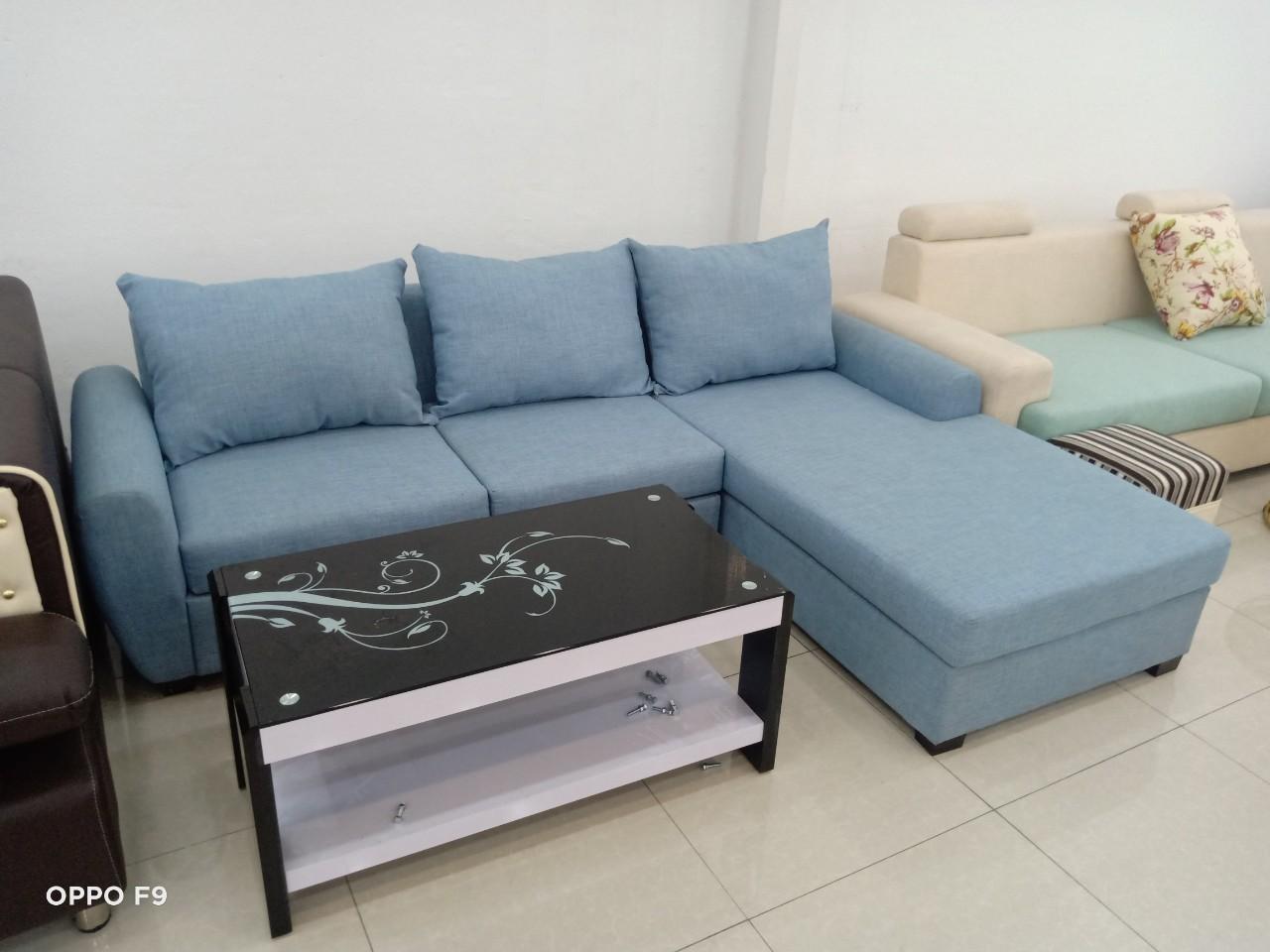 ghế sofa thanh lý bằng vải