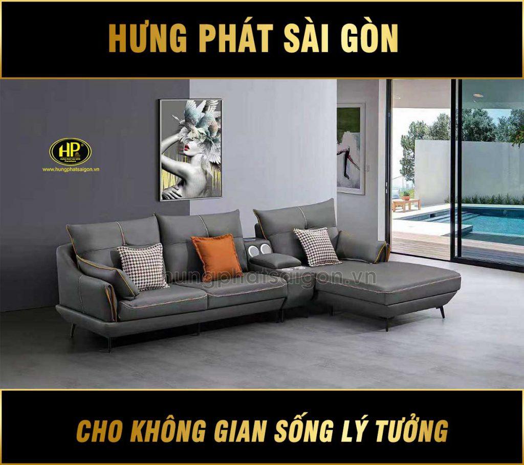 Sofa góc hiện đại nhập khẩu 2131TD
