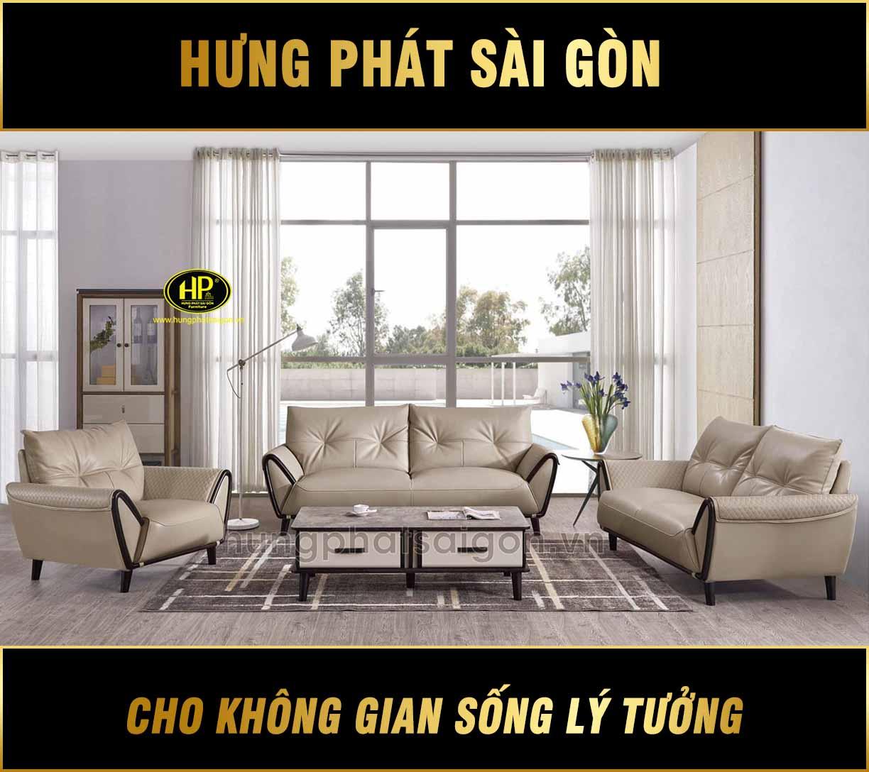 Bộ ghế sofa phòng khách cao cấp NK-A002
