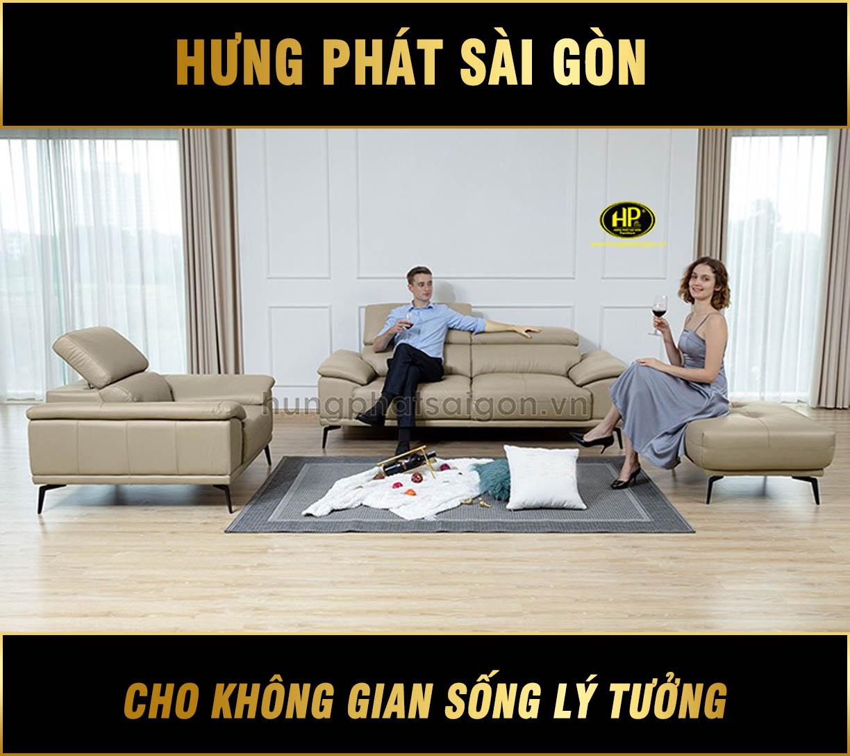 Bộ sofa da cao cấp H-204