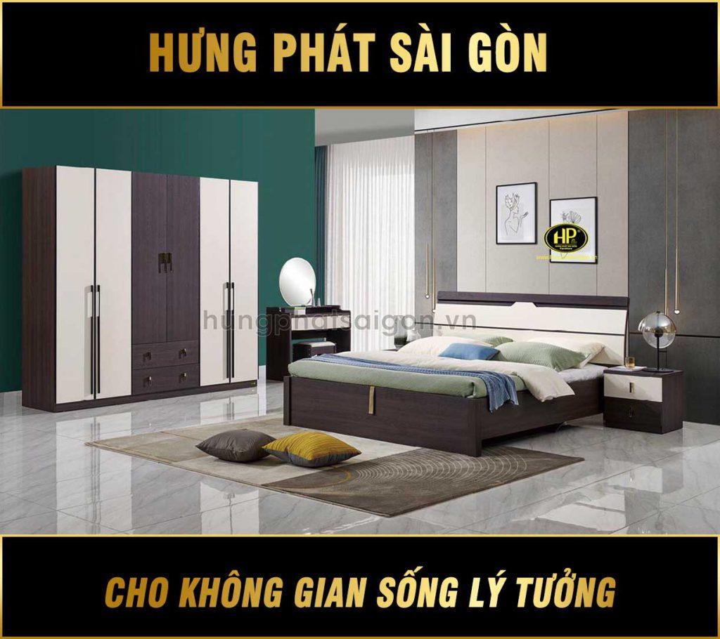 Combo nội thất phòng ngủ hiện đại AT-C01
