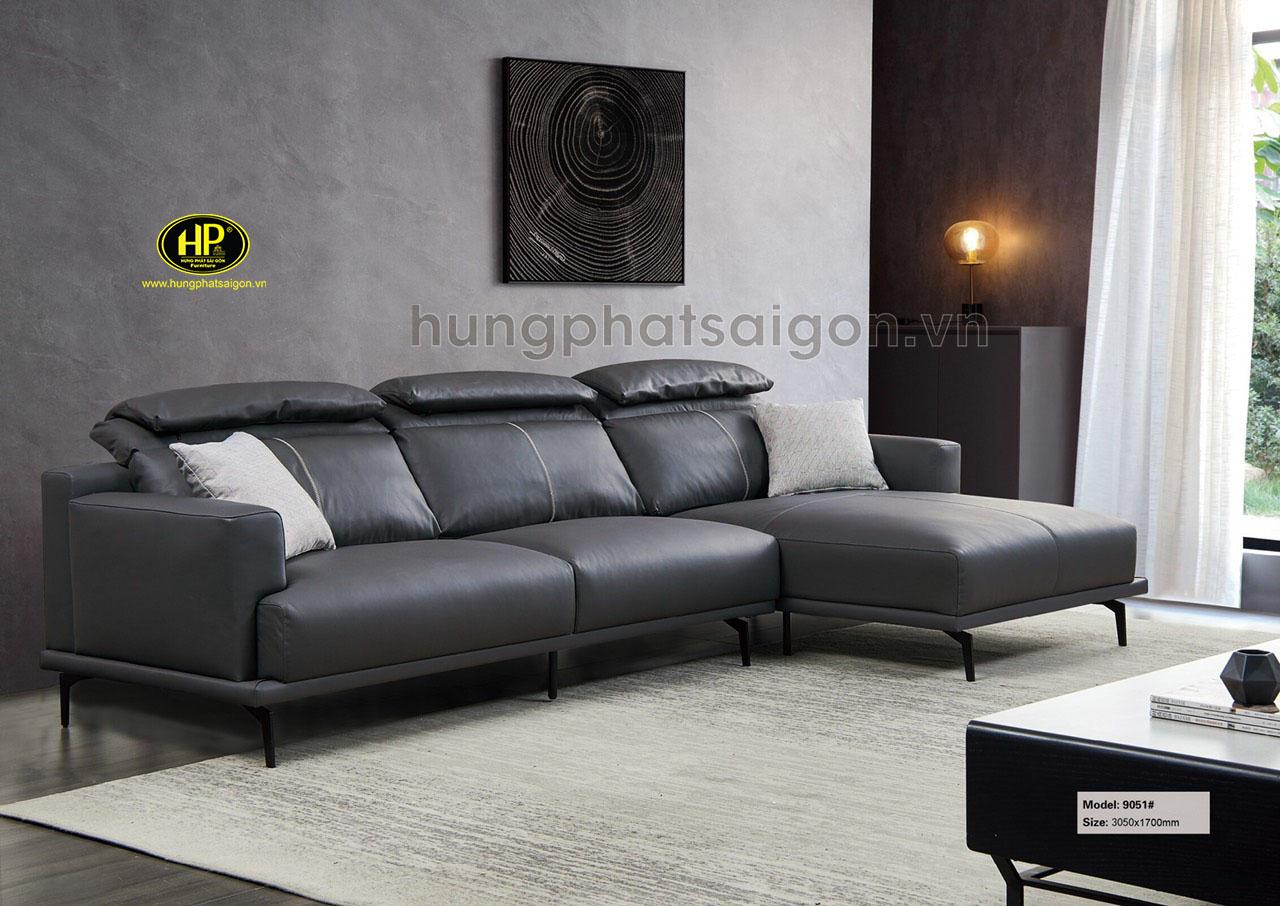 Sofa da bò cao cấp nhập khẩu NK-9051