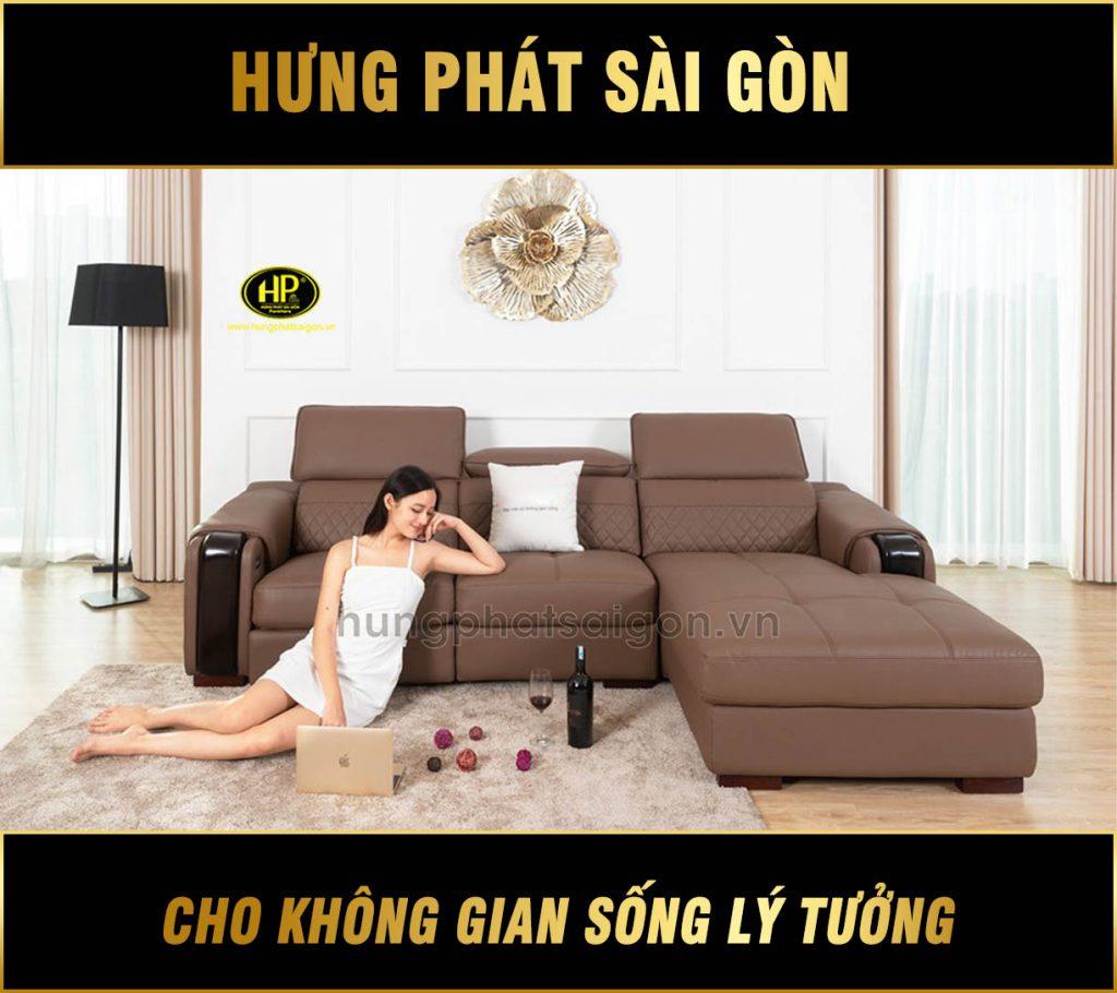 Sofa da cao cấp HD-78