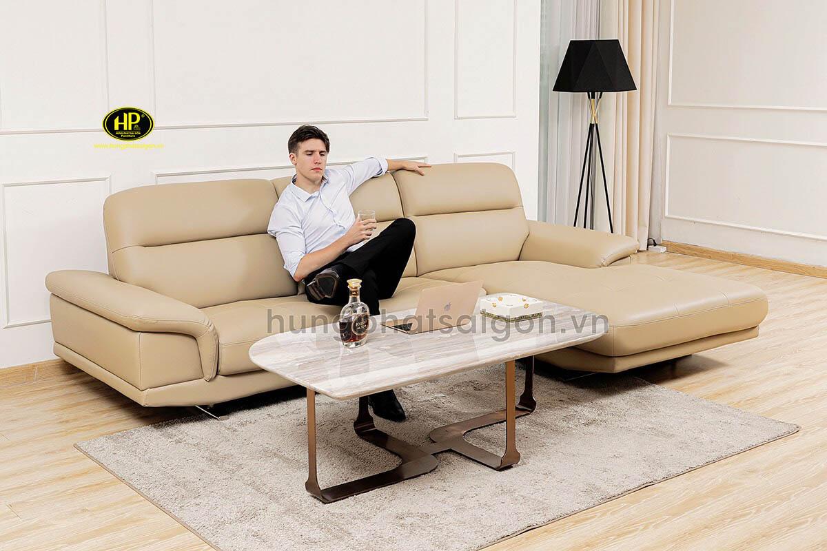 Sofa da cao cấp nhập khẩu HD-82
