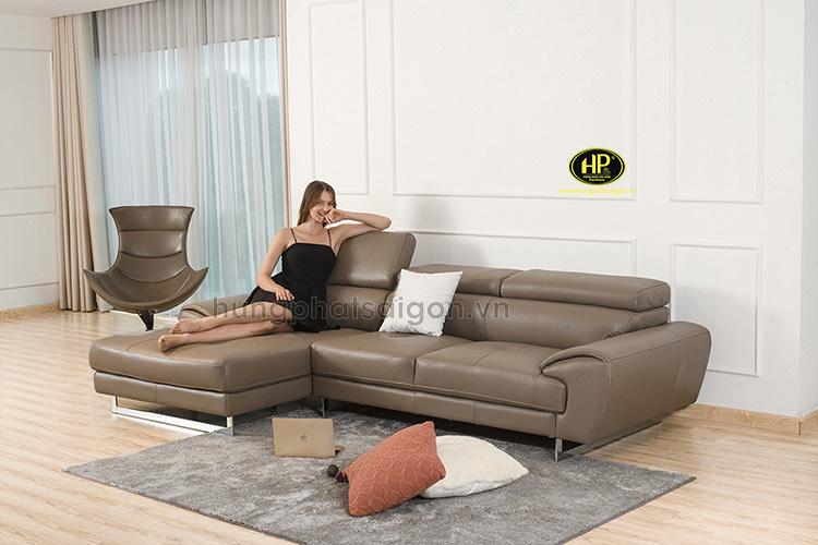 Sofa da góc cao cấp HD-75