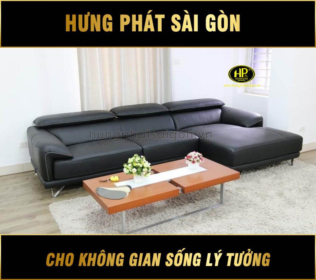 Sofa da phòng khách hiện đại HD-85
