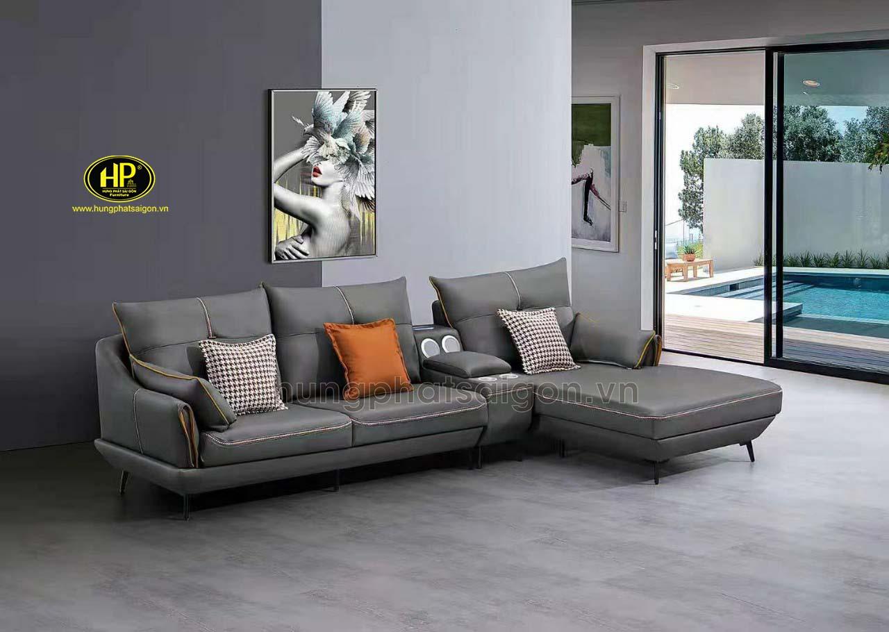 Sofa góc hiện đại nhập khẩu H-2131TD