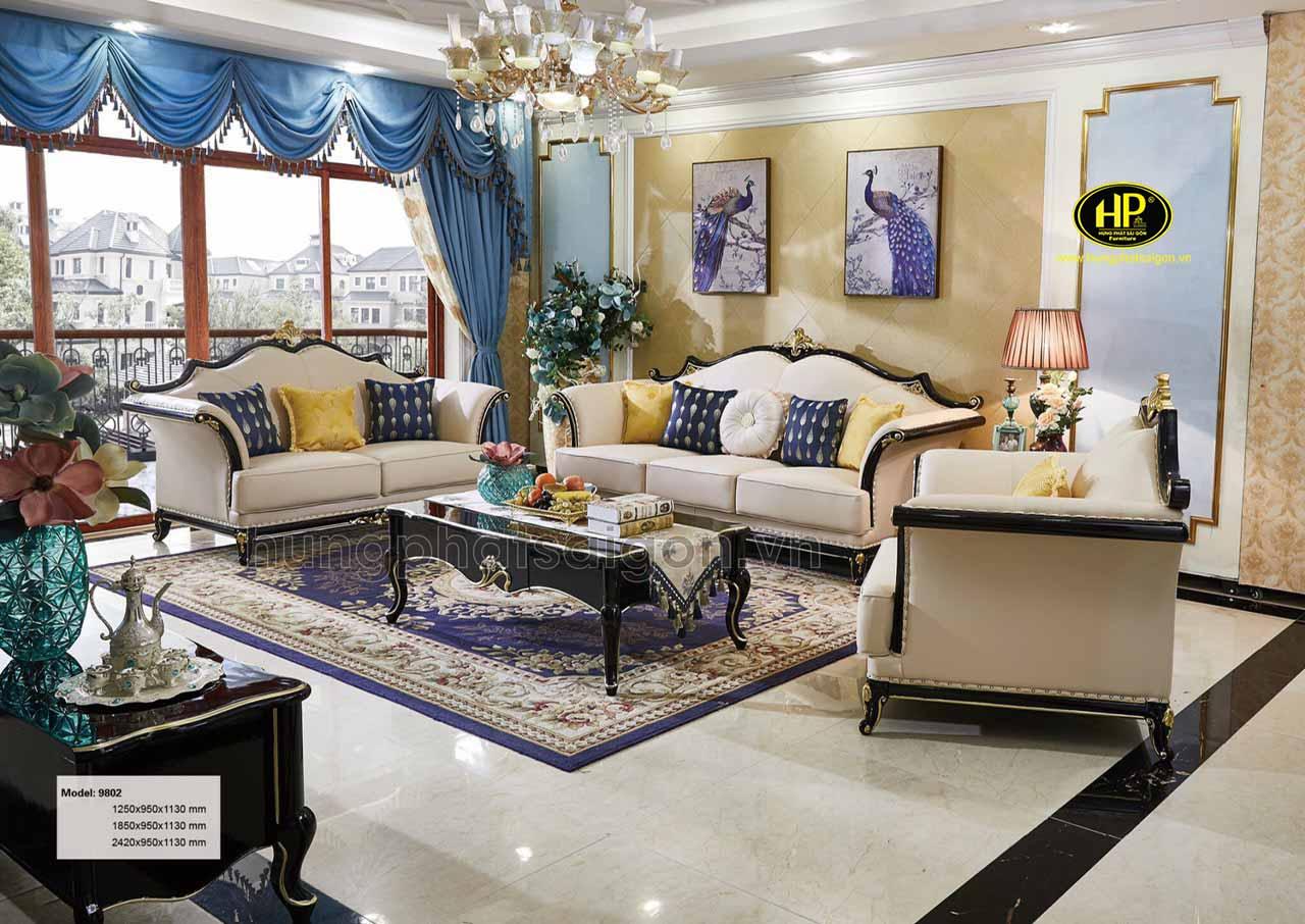 Sofa tân cổ điển cao cấp AT-9802