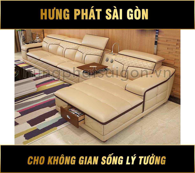 Sofa da cao cấp mới nhất HD-25