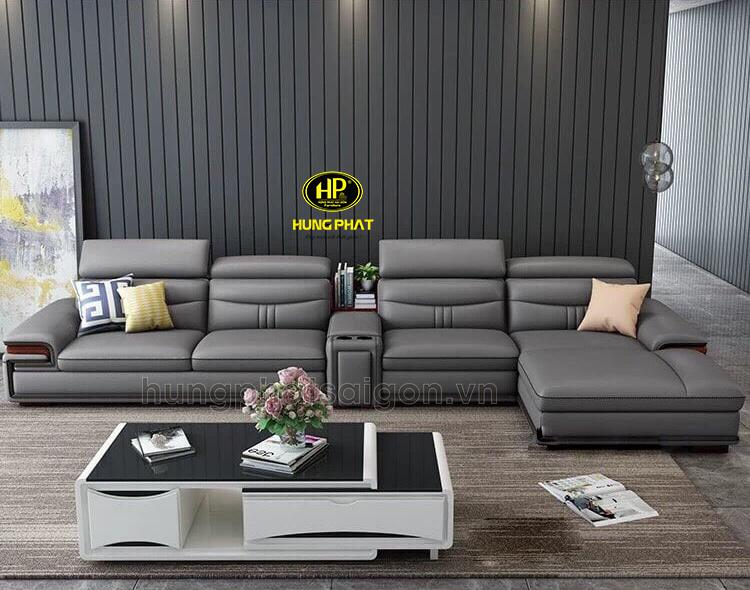 sofa làm bằng da simili
