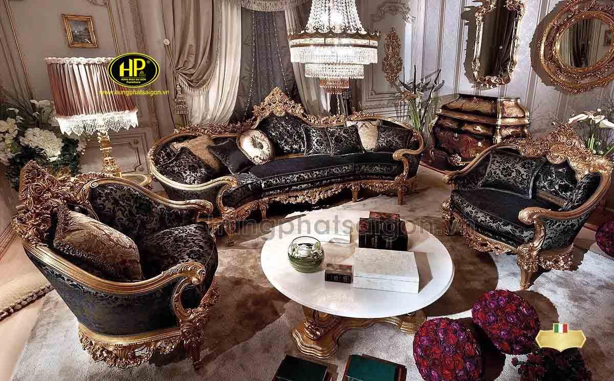 sofa dát vàng đẳng cấp quý tộc