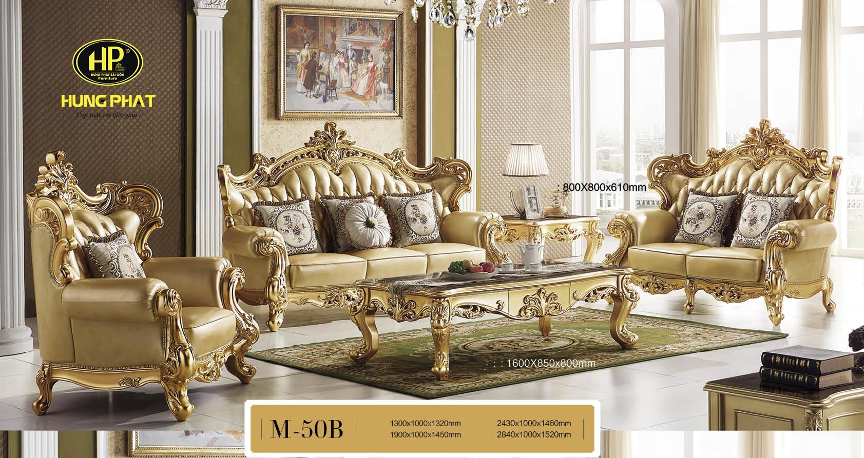 Mẫu sofa với vẻ đẹp sang trọng, thể hiện đẳng cấp của gia chủ