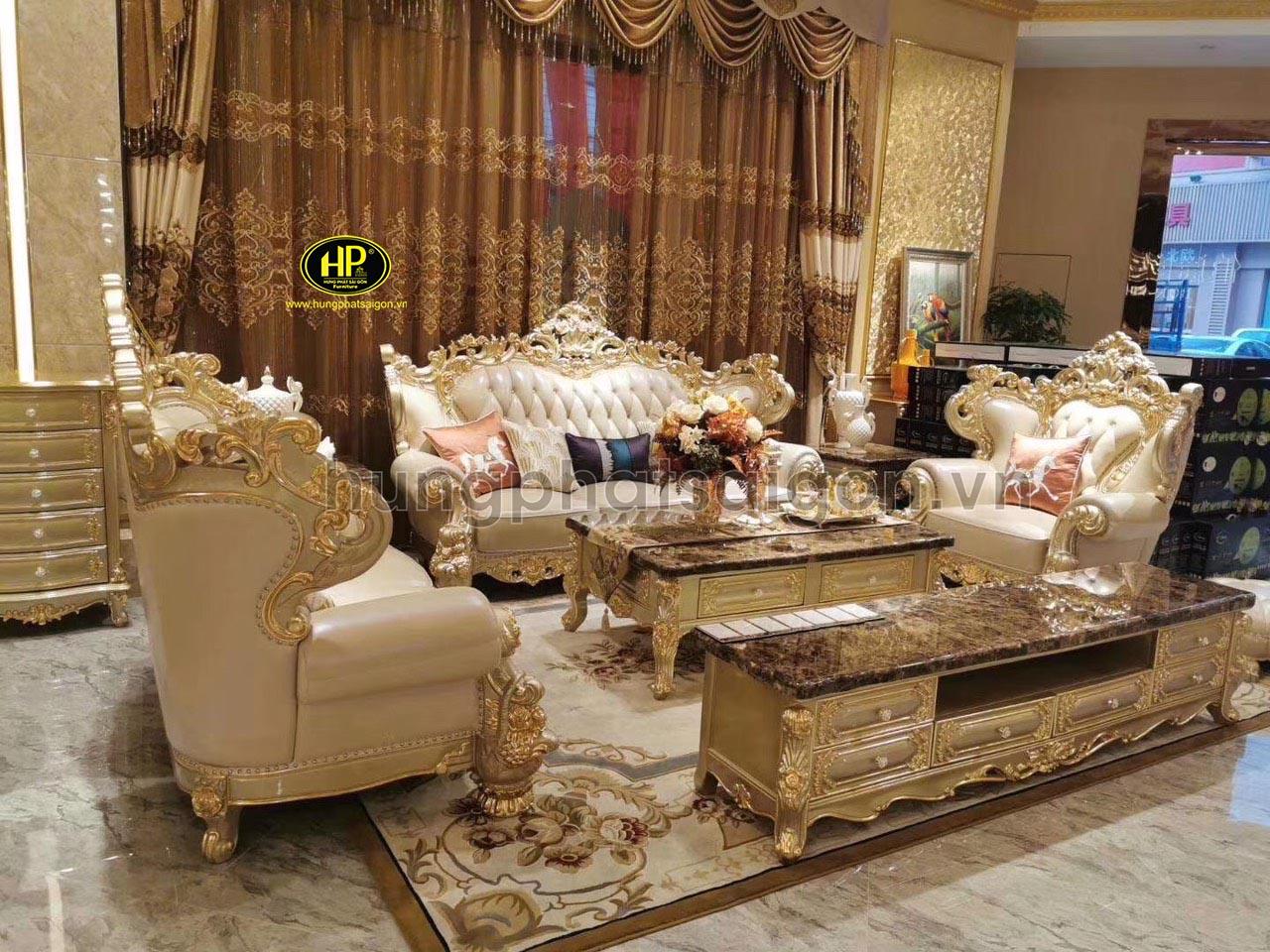 Sofa dát vàng Hưng Phát Sài Gòn nhận được nhiều đánh giá tích cực từ khách hàng