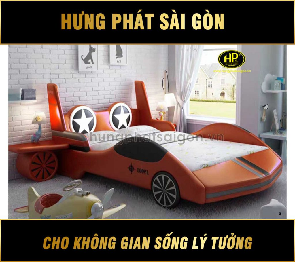 Giường ngủ bọc da hiện đại GTE-07