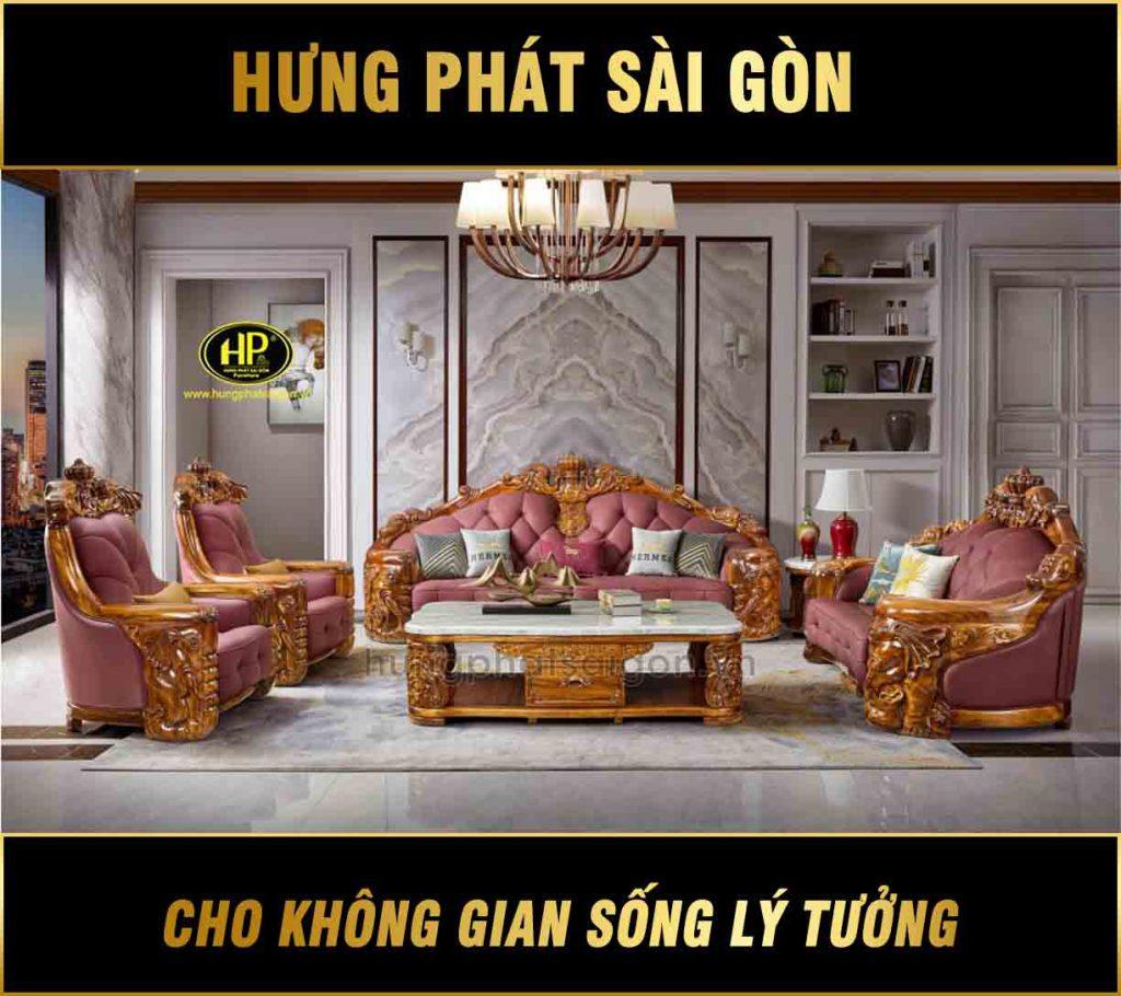 Sofa tân cổ điển cao cấp M-A26