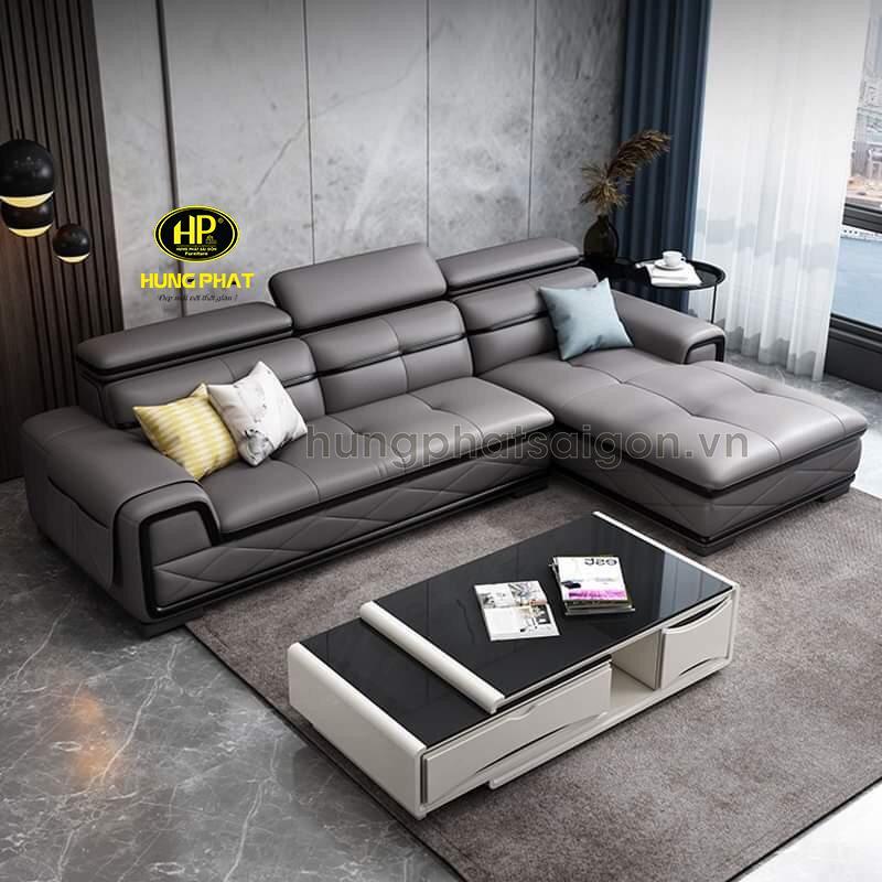 Sofa cao cấp Italia của nội thất Hưng Phát Sài Gòn vừa đẹp, vừa bền lại có đầy đủ bảo hành