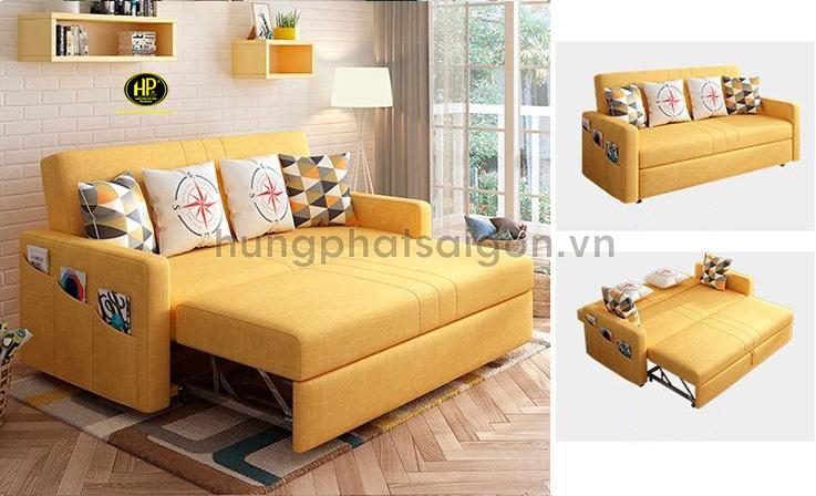 Mẫu giường sofa gấp gọn thành ghế giá rẻ G-14